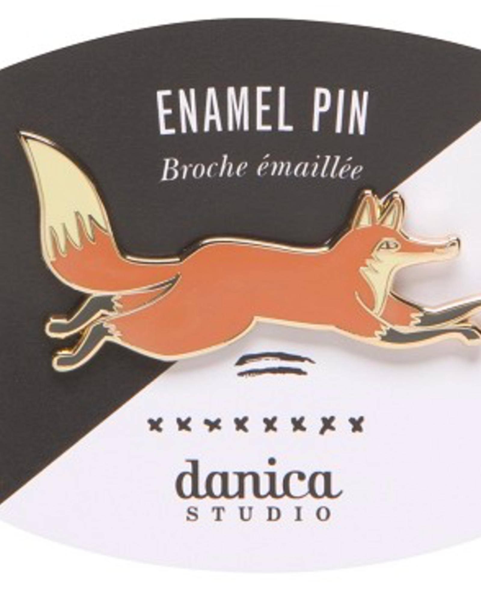 Hill Dale Enamel Pin