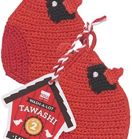 Tawashi Pot Scrubber Set Cardinals