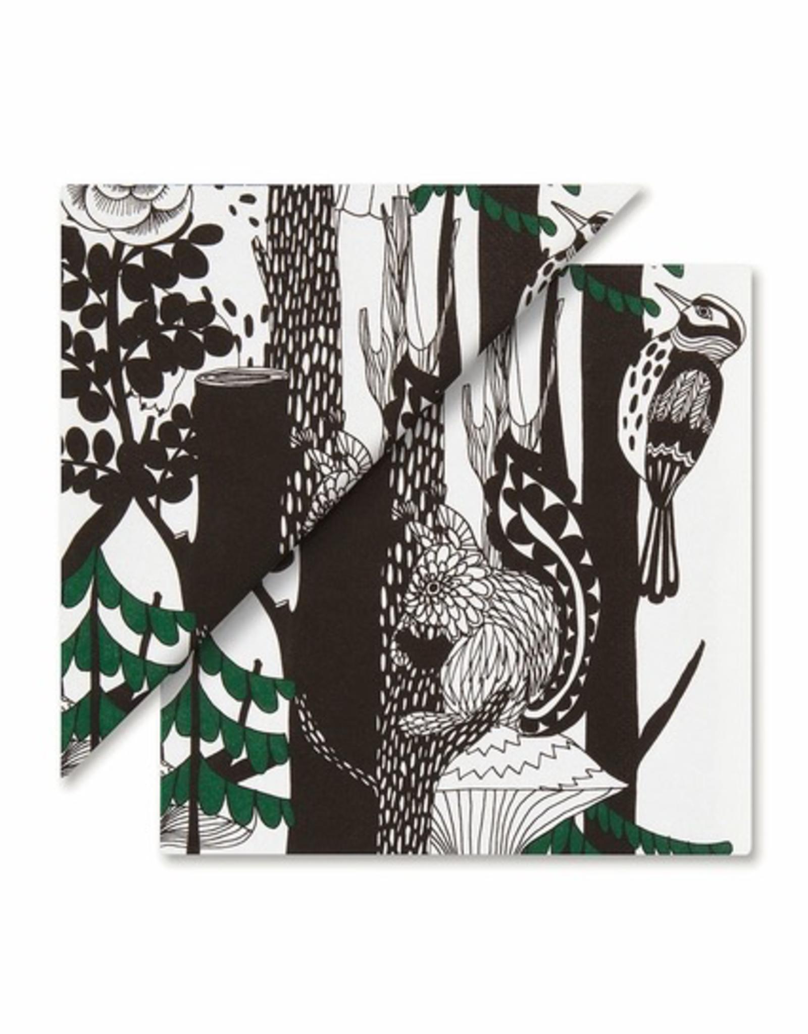 Marimekko Paper Napkins Trees & Birds