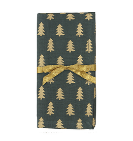 Golden Tree Napkin Set/4