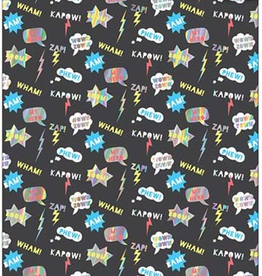 Wham Zap Wrapping Paper