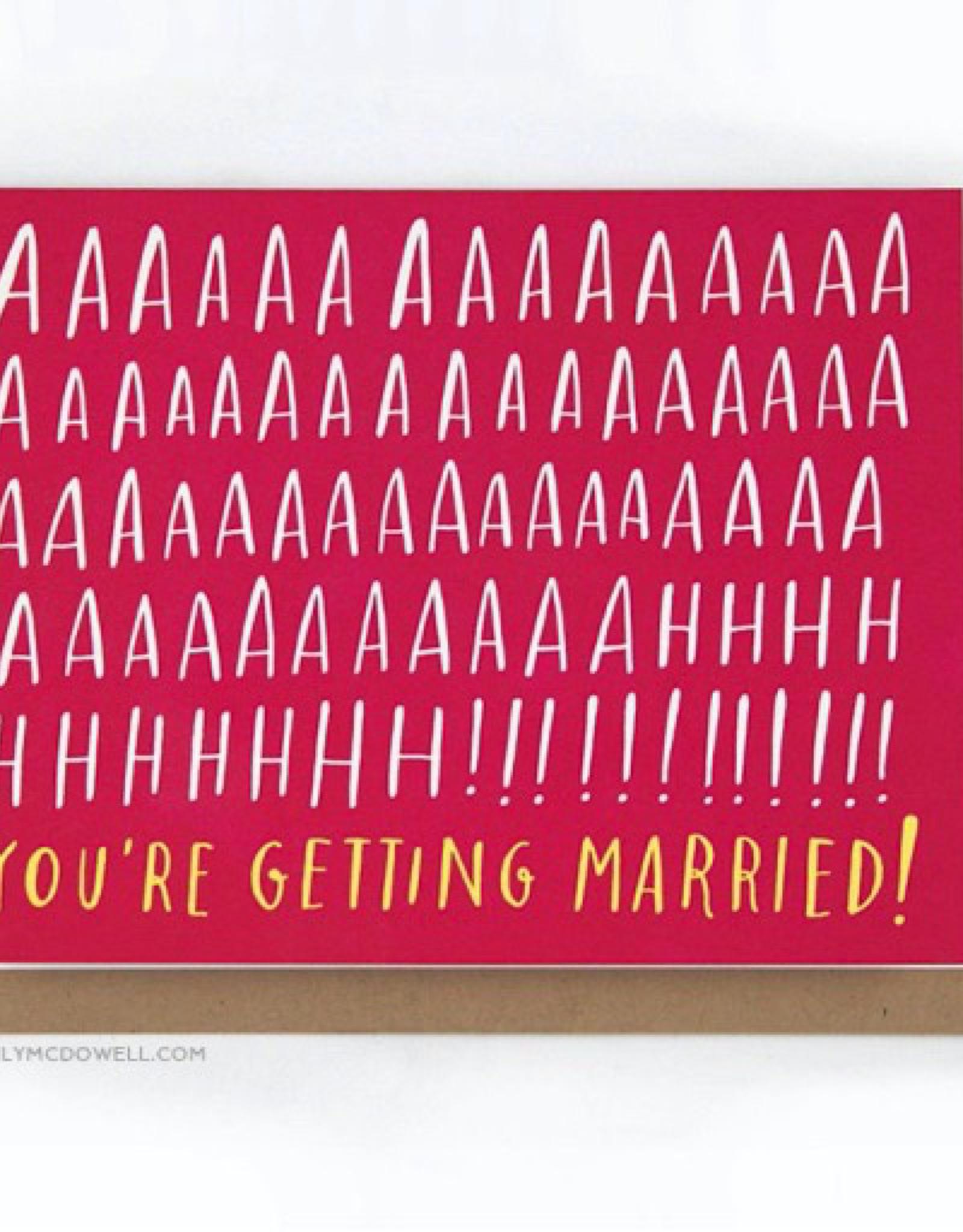 AHHH Married Card