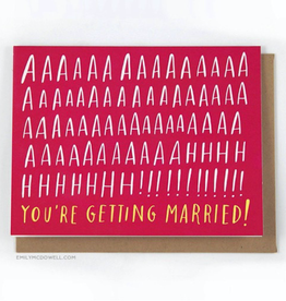 AHHH Married Card