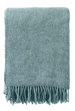 Gotland Wool Throw - Turquoise