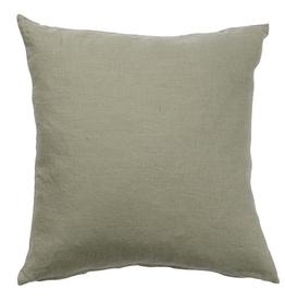 100% Linen Cushion Cover - Green 50cmx50cm