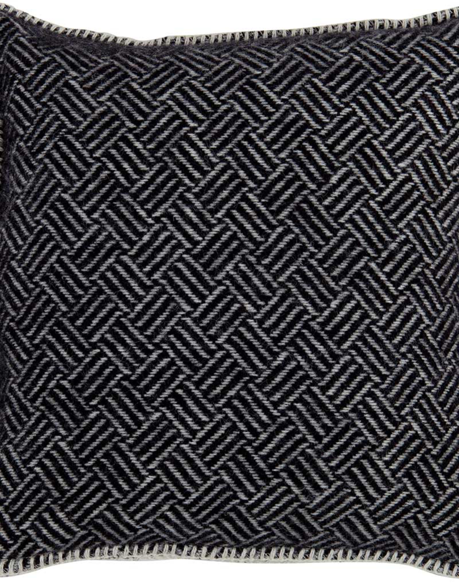 Wool Cushion Samba - Lead Grey