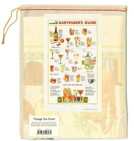Bartender's Guide Tea Towel
