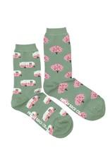 RV & Tree Crew Socks