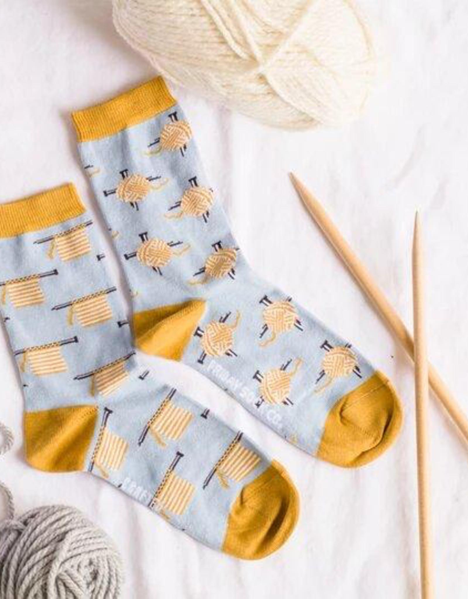 Knitting Crew Socks
