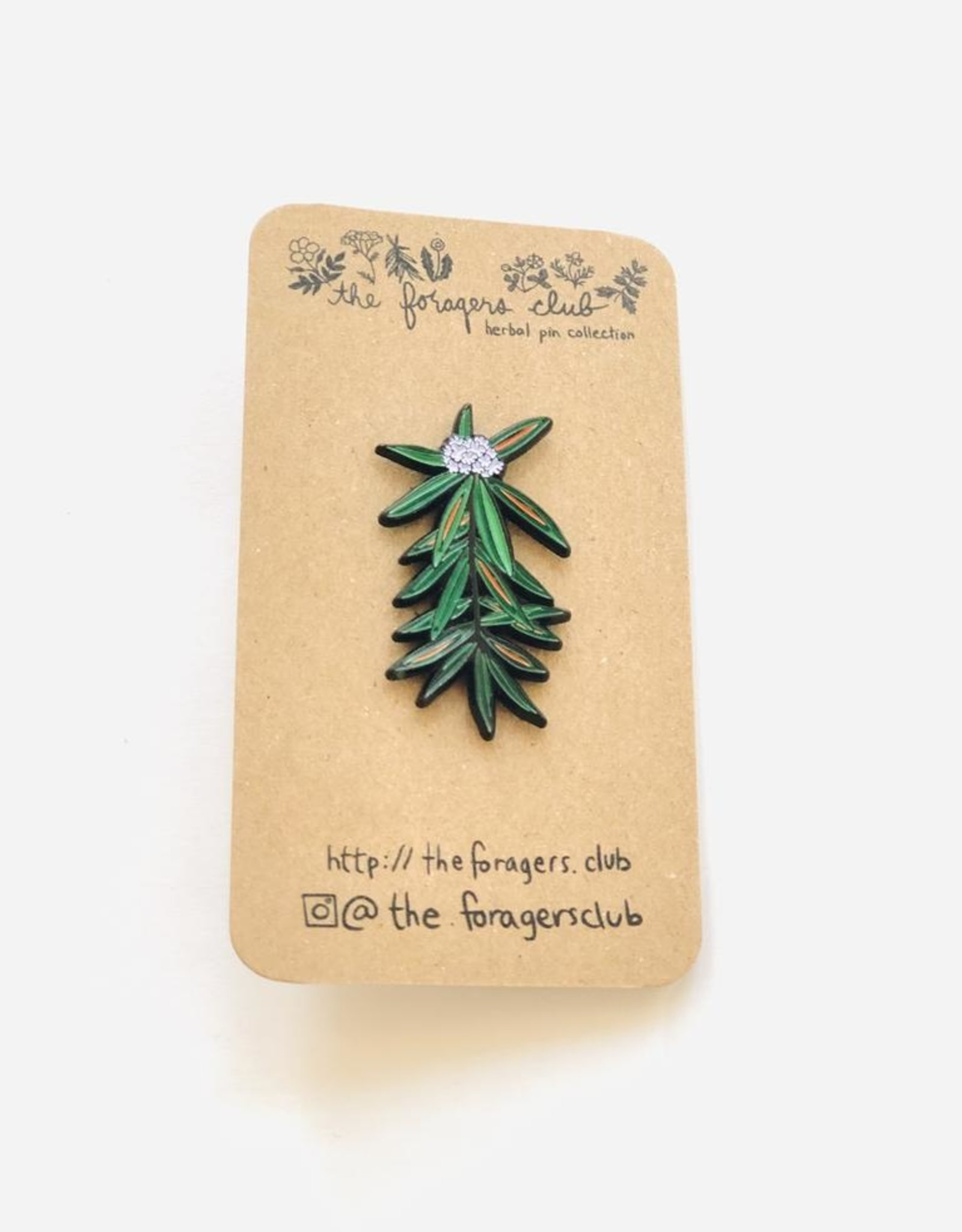 Labrador Tea Pin