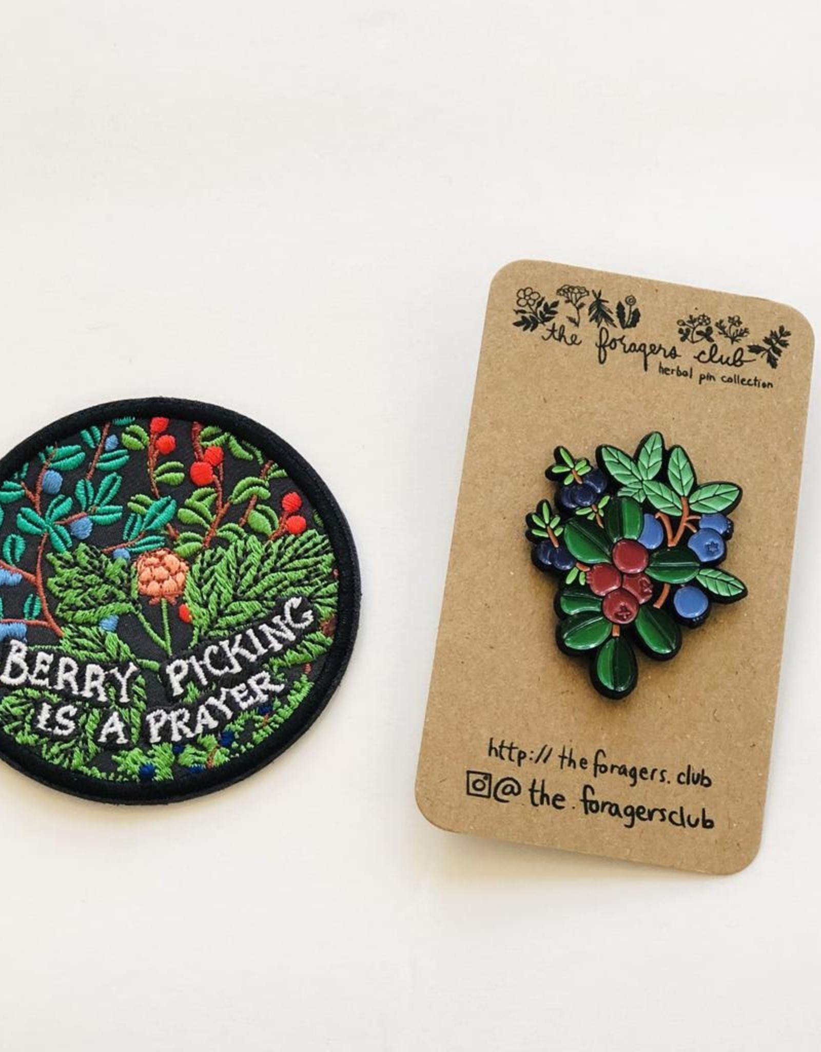 Boreal Berry Pin