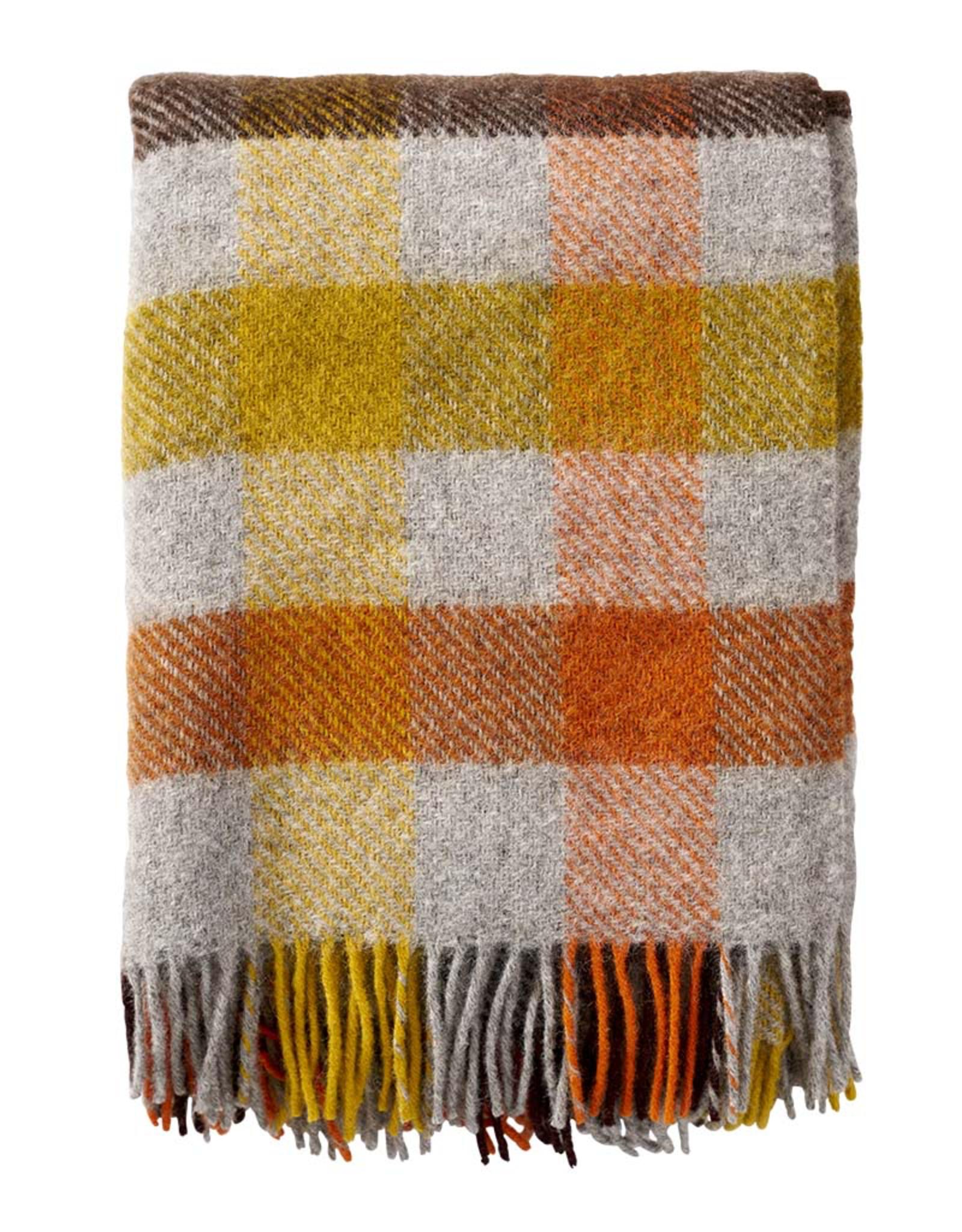 Gotland Wool Throw - Multi Yellow