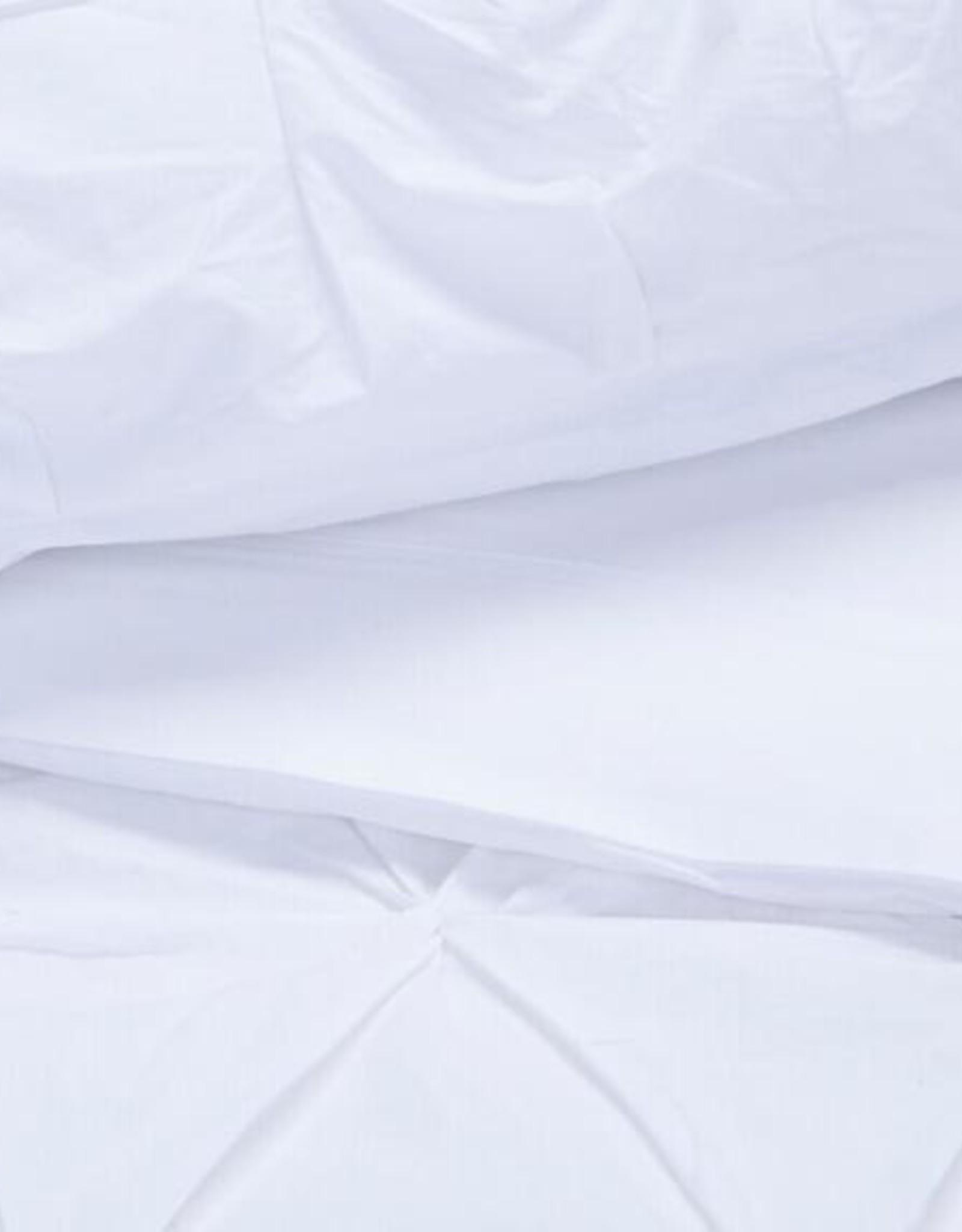 EQ3 Moncton Duvet White - King