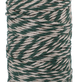 Flax Yarn-Green