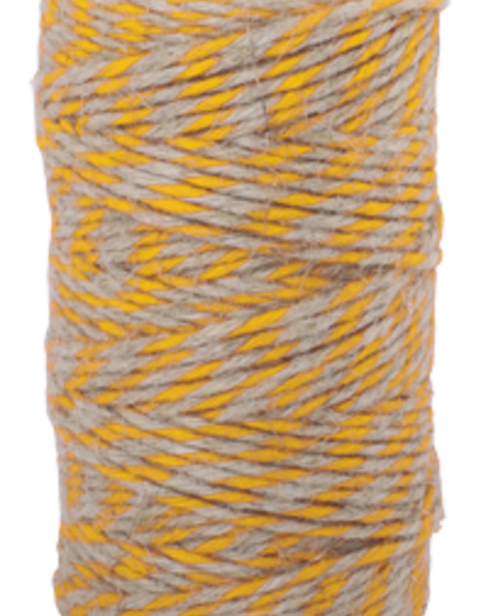 Flax Yarn-Yellow