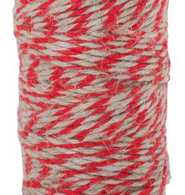 Flax Yarn-Red