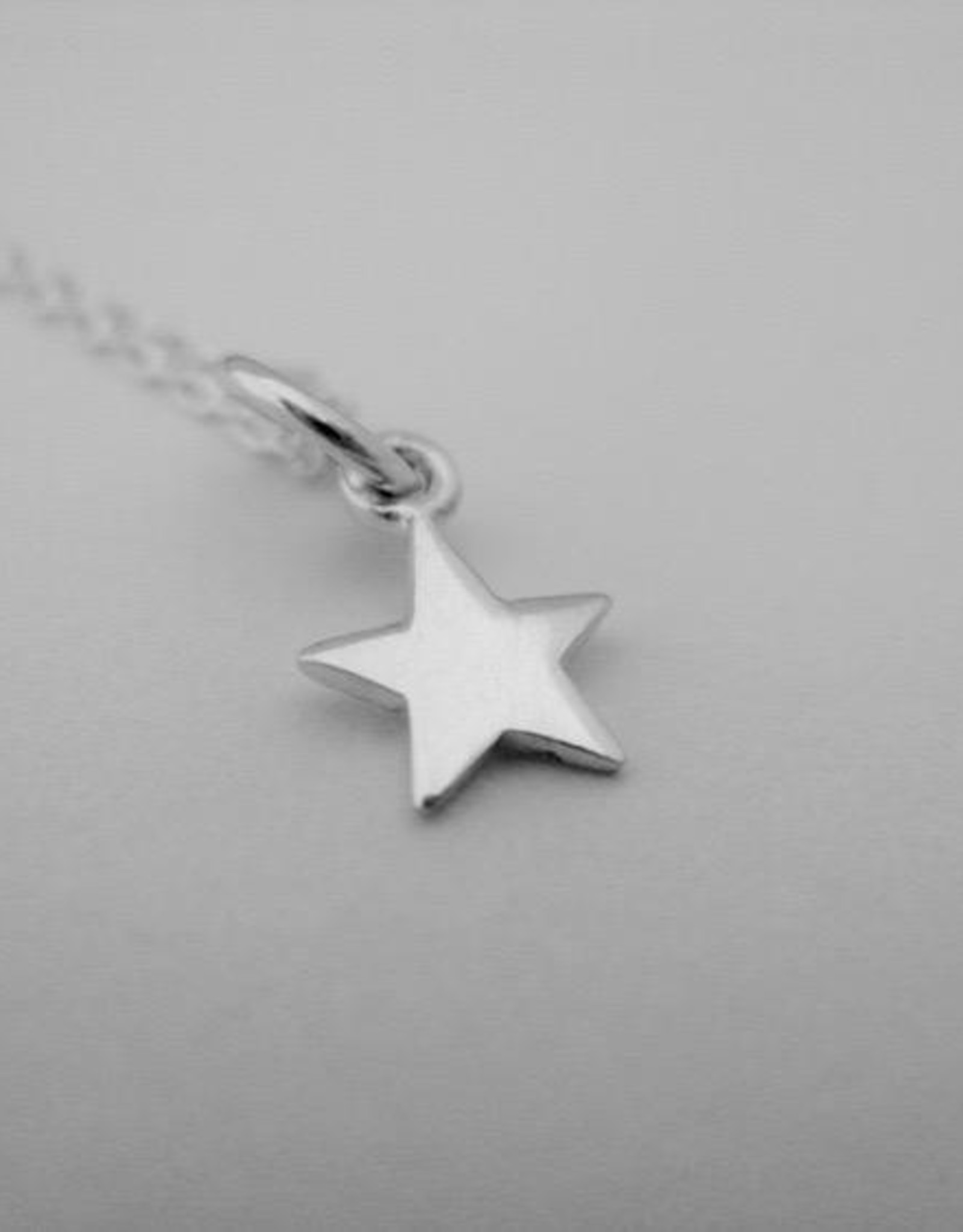 "Star Necklace, 18"" Sterling Silver"