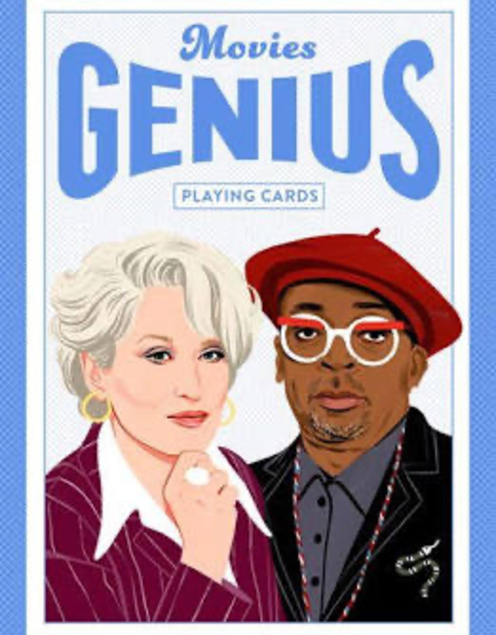 Movies Genius Playing Cards