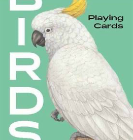Birds Playing Cards
