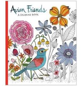 Avian Friends Colouring Book