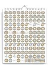 2021 Family Calendar - 2 Colourways