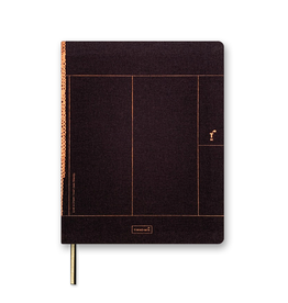Luxe A5 Notebook Chocolate