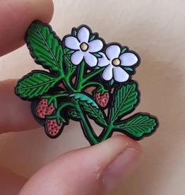 Wild Strawberry Pin