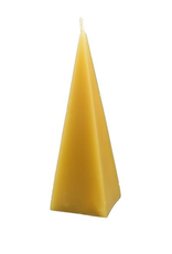 Beeswax Pyramid Candle