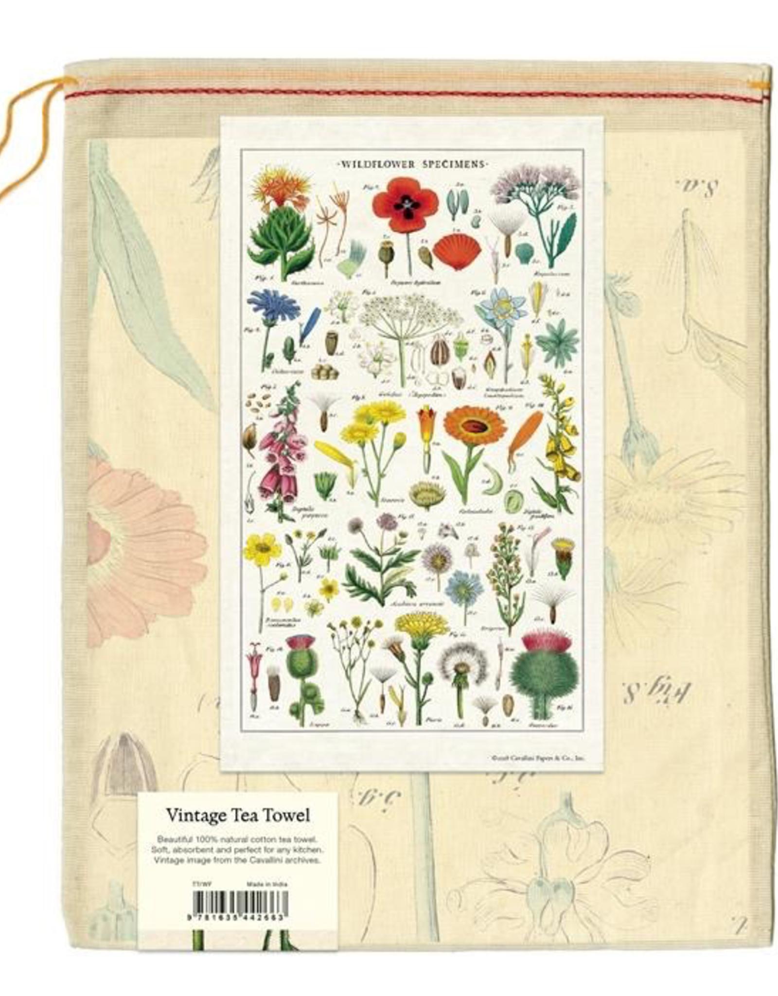 Wildflowers Tea Towel
