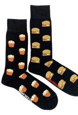 Fries And Burger Socks