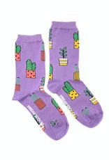Potted Plant Crew Socks
