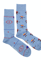 Hockey Rink And Player Socks