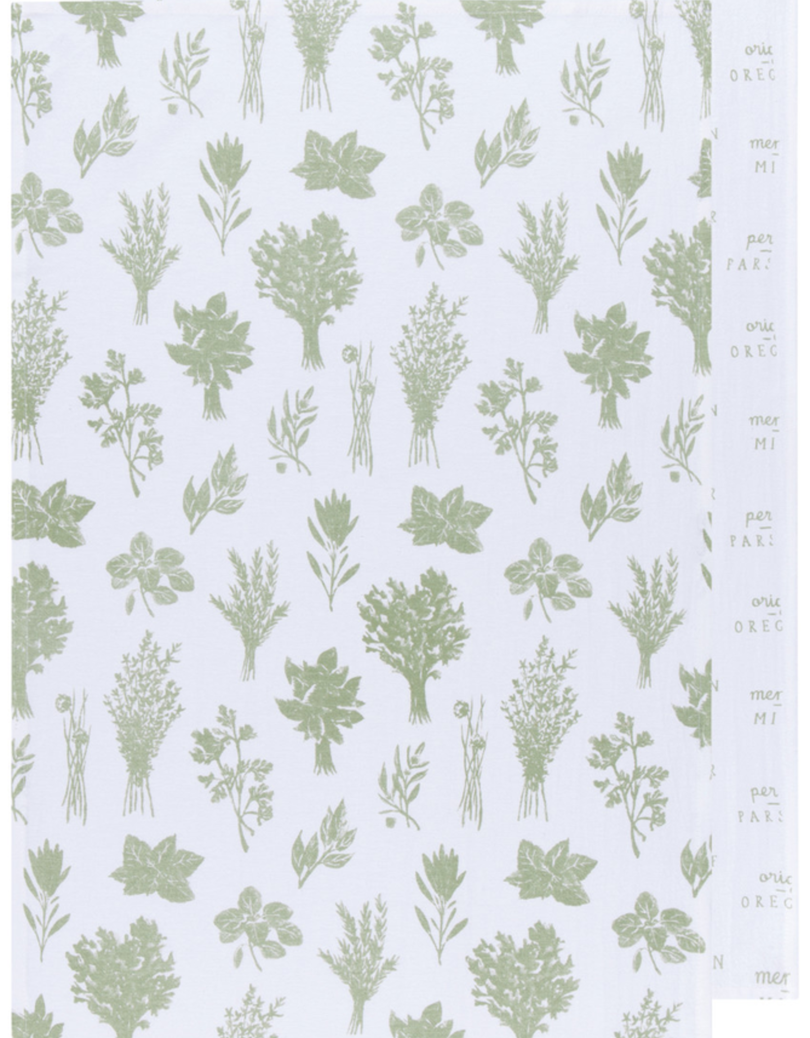 Sage Tea Towel/Set 2