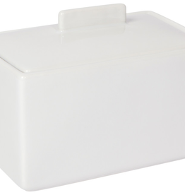 Butter Dish 1 lb White