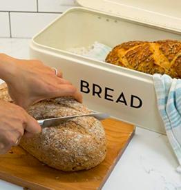 Bread Bin Large - Ivory