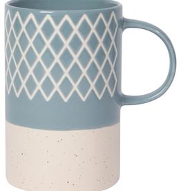 Etch Mug - Slate Blue