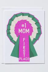 #1 Mom Ribbon
