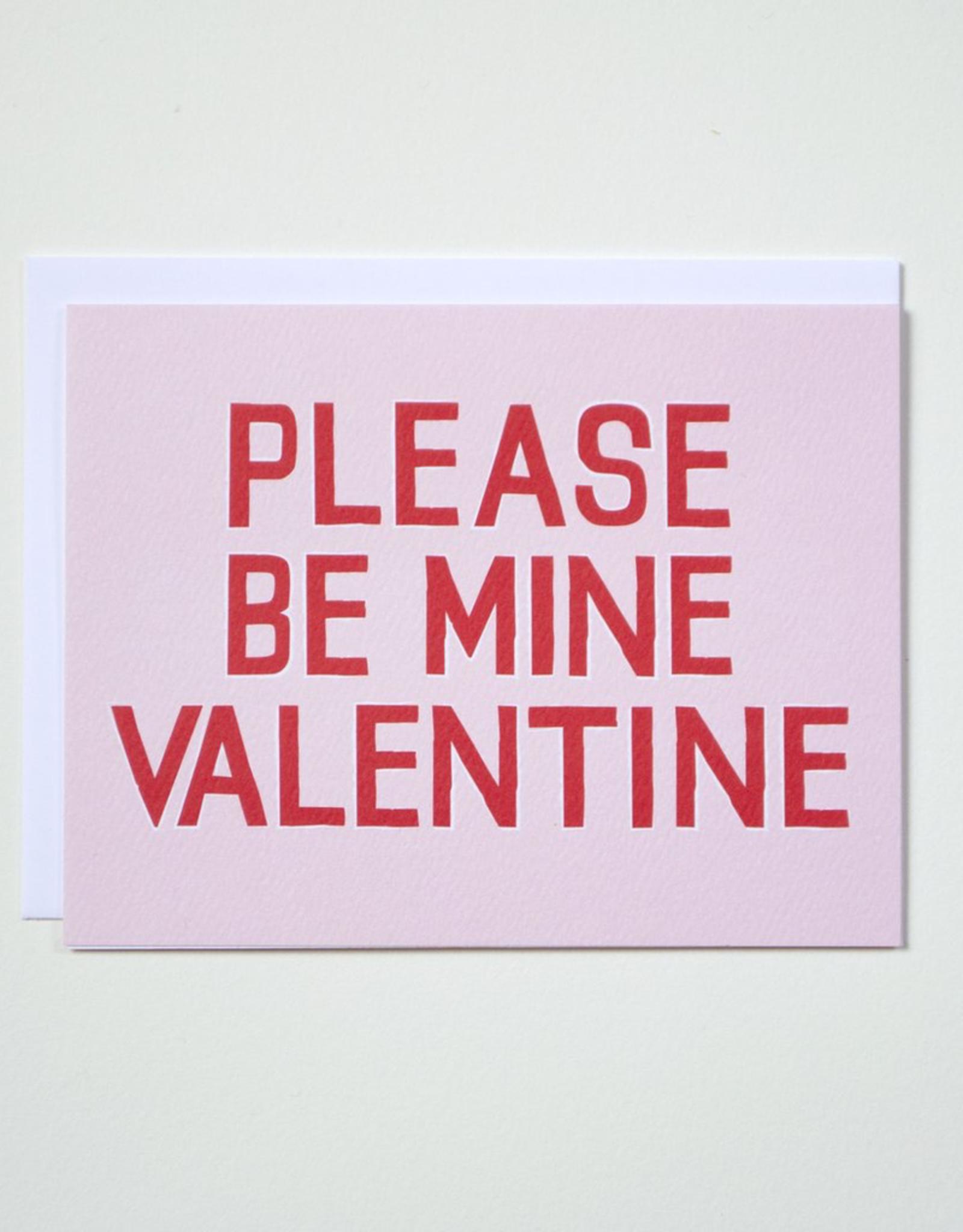 Please Be Mine Valentine