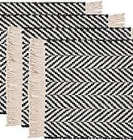Harris Placemat-Black Single