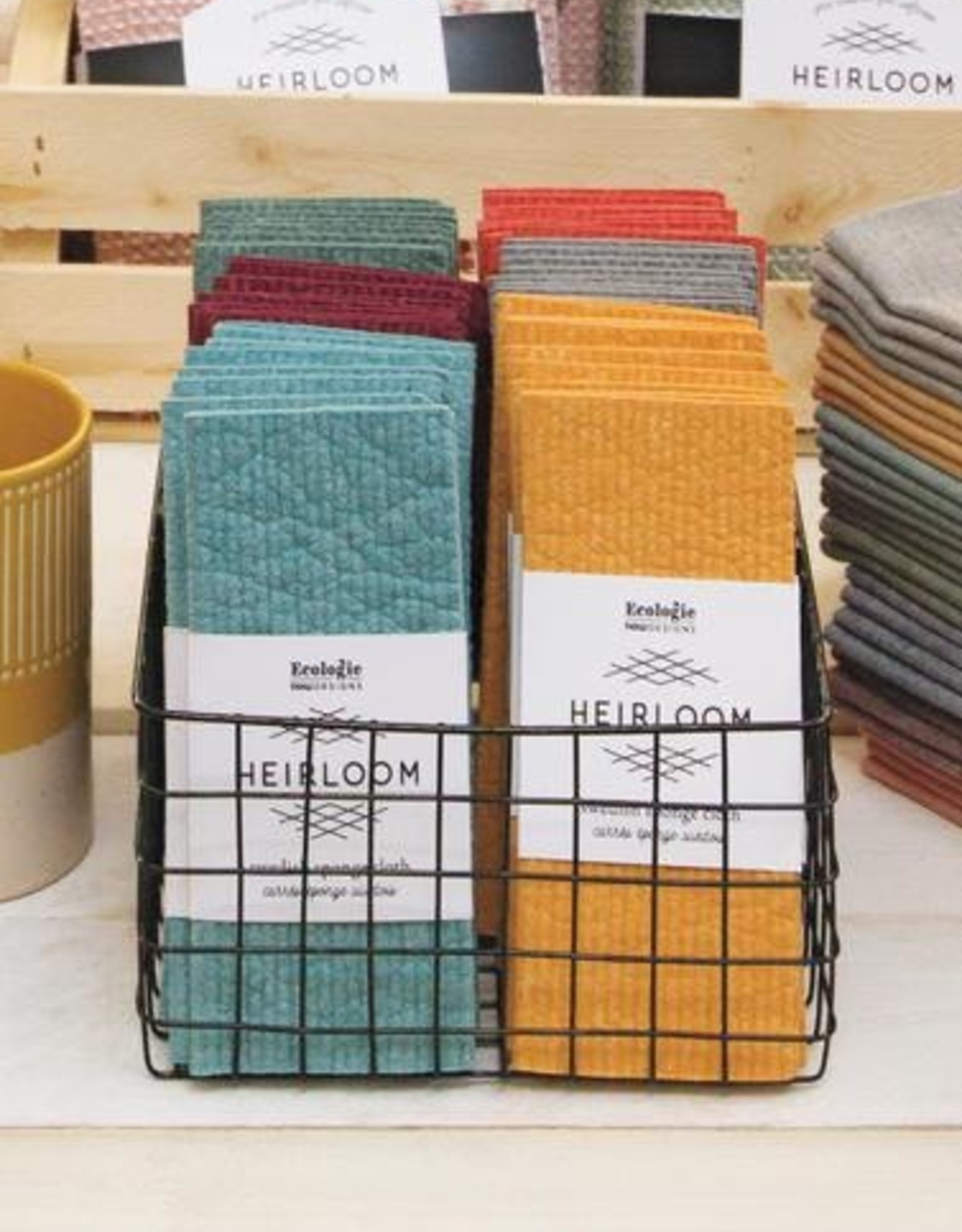 Swedish Dishcloth - Ochre