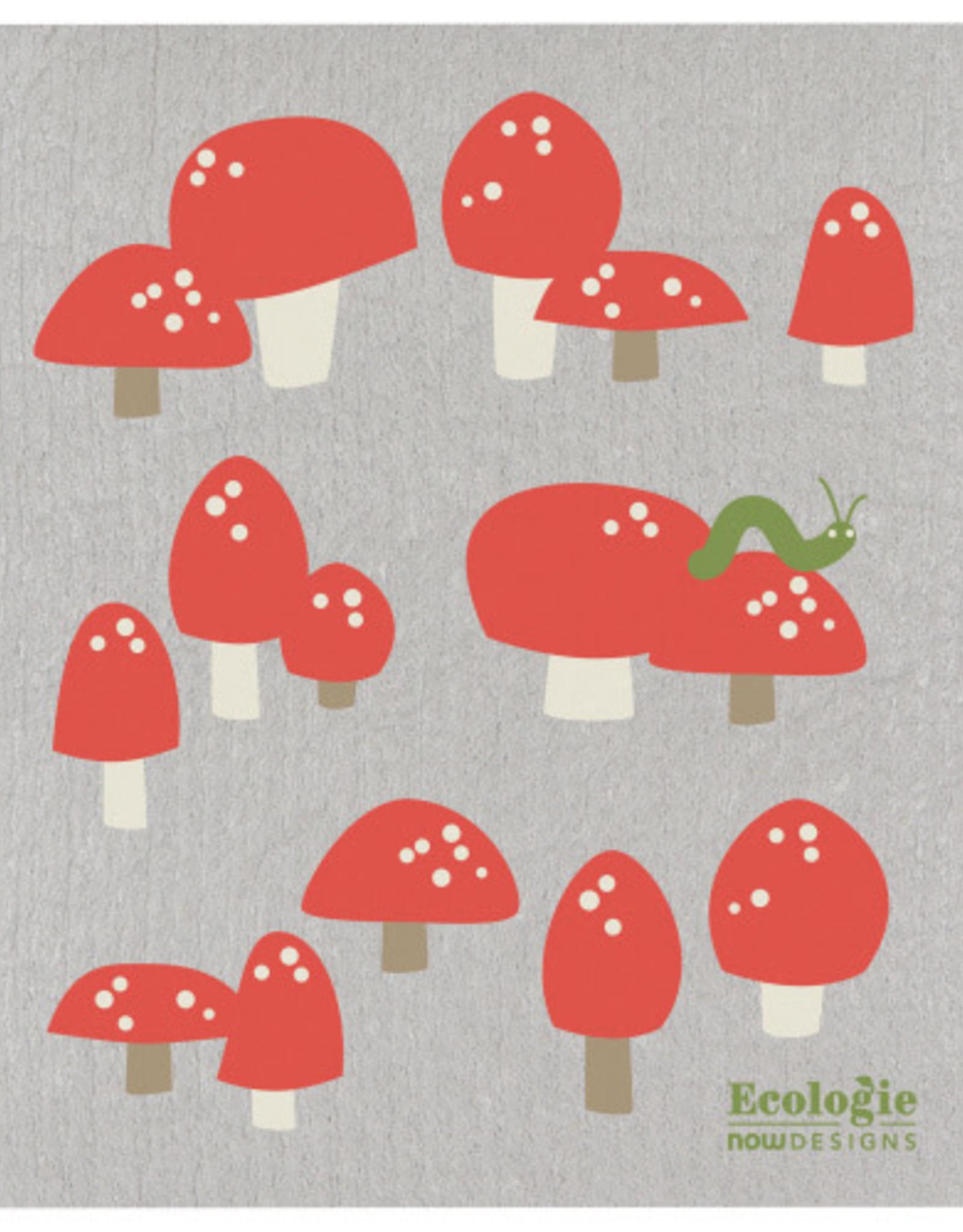 Swedish Dishcloth - Toadstools