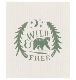 Swedish Dishcloth - Wild & Free