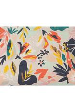 Superbloom Linen Cosmetic Bag
