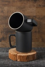 Contour Tall Matte Black Mug