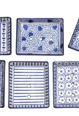 Ceramic Soap Dish Rectangular - Assorted Designs