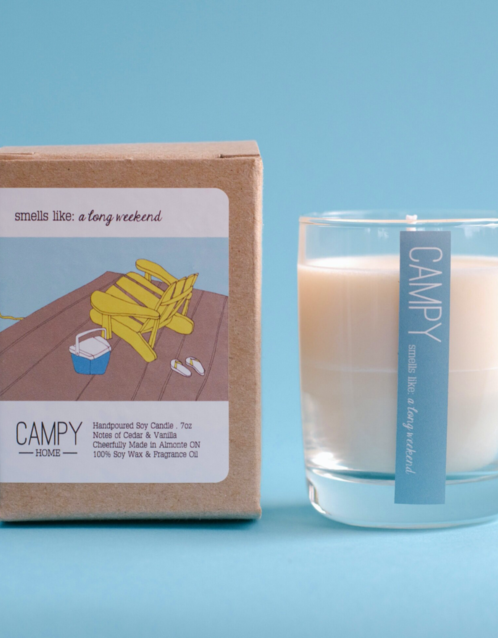 Long Weekend Soy Candle