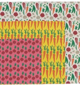 Beeswax Wrap-Veggies Set 3