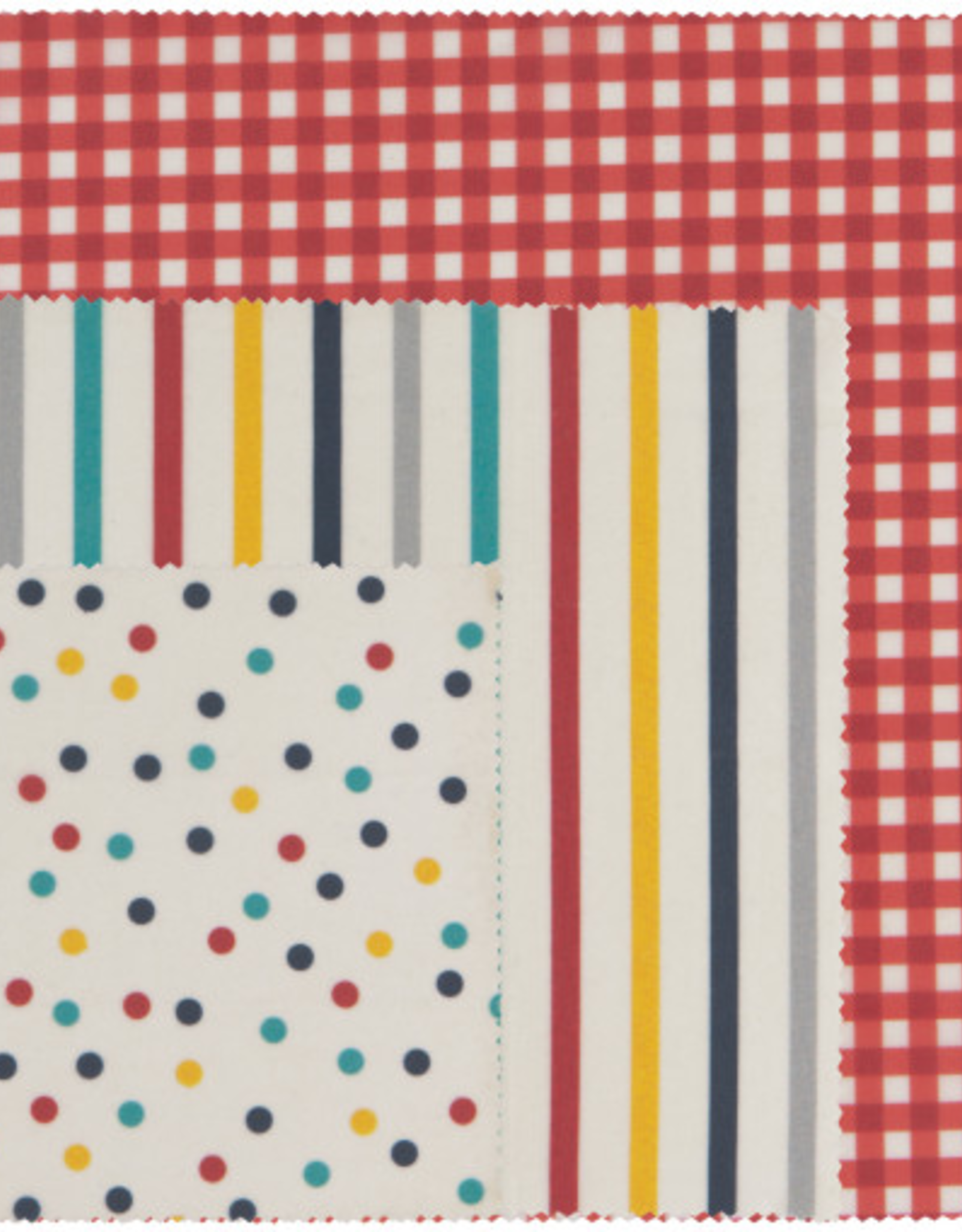 Beeswax Wrap-Gingham Set 3