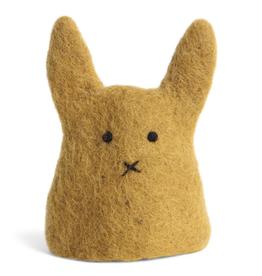 Egg Cozy Cover Ochre Bunny, Fair Trade