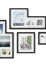 Mingle Gallery Frames Black - Set 4